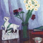 Still Life with Capricorn Figurine