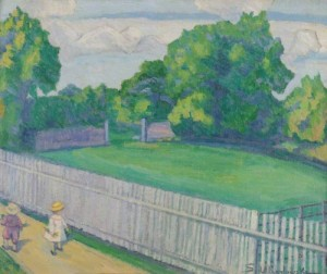 Sunday Afternoon. ca.1927 (Alfred East Art Gallery)