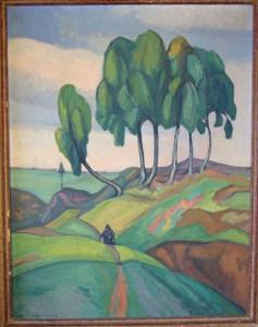 The Six Trees. Poland. 1920