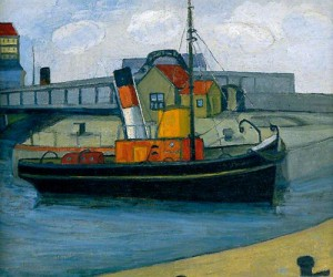 The Tug Boat, Poole. 1933 (Kirklees Museum)