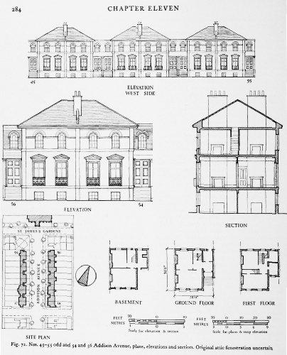 Addison Avenue Elevation