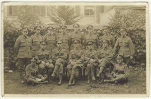 NPG x127172; John Nash and fourteen soldiers by Unknown photographer